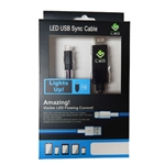 DS580 - Lighted USB to Lightning 8 Pin Charge Cable For iPhone 5/6 & iPad/iPad Mini