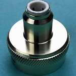 "DS2717 - John Guest 1/4"" Fem x 3/4"" Tube Brass Female Connector Fitting"