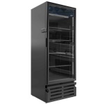 DS319 - Imbera G319 Single Door Cooler, Black on Black- With Health Lock & Key