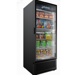 DS325A - Imbera VFS24 Single Door Freezer, Black W/Health Lock & Key