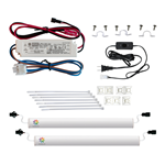 DS2751 - Micro Market Double Shelf LED Light Kit