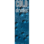 "DS2075A - Cold Drink Bubbles Side Decal 20"" X 74 3/4"""