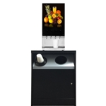 OCS200TR/CD/SF - All State OCS Stand W/Trash Hole & Cup Dispenser