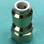 "DS2715 - John Guest 1/4"" Tube x 1/4"" FFL Brass Female Connector Fitting"