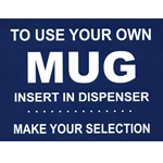 "D623-2061 - National ""Use Your Own Mug"" Decal"