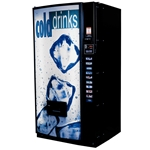 D848792 - Royal 542-8 , Merlin 4 Cold Drink Sign- Ice Cubes