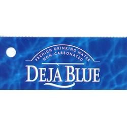 """Blue Label Price >> D & S Vending Inc - Deja Blue Water Label- 1 3/4"""" x 3 19/32"""""""