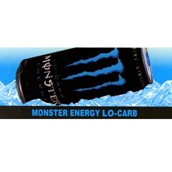 D Amp S Vending Inc Monster Energy Lo Carb Label 1 3 4 Quot X