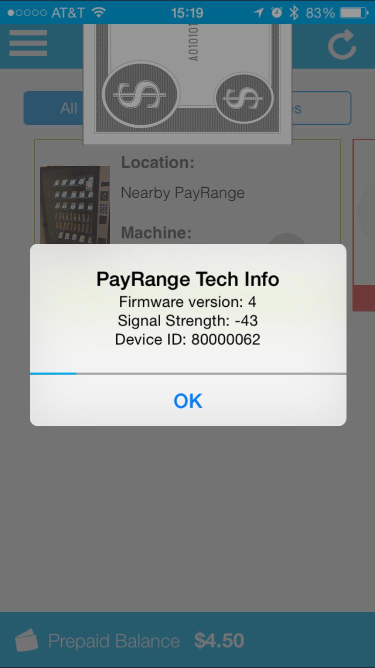 PayRange Fireware Instructions